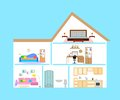 The home interior Royalty Free Stock Photo