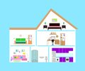 Home and  interior Royalty Free Stock Photo