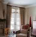 Home Interior: Drapes Royalty Free Stock Photo