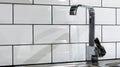 Home interior- kitchen water tap