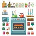 Home kitchenware Royalty Free Stock Photo