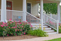 Home landscaping porch  Royalty Free Stock Photo