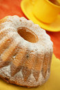 Home made angel cake Royalty Free Stock Photo