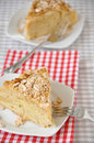 Home made apple pie on a plate Stock Photos