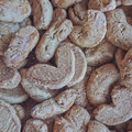 Home made cookies tasty background Stock Photography
