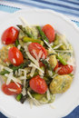 Home made spinach gnocchi Royalty Free Stock Photo