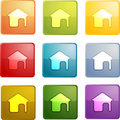 Home navigation icon Royalty Free Stock Photo