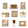 Home and office furniture Stock Image