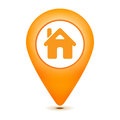 Home pointer icon Royalty Free Stock Photo
