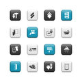 Home renovation buttons Royalty Free Stock Photo
