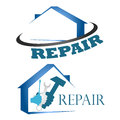 Home repair design for of houses Stock Photo