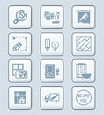 Home repair icons | TECH series Royalty Free Stock Photo