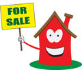 Home Sales House for Sale Vector Illustration Royalty Free Stock Photo