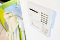 Home security system alarm Royalty Free Stock Photo