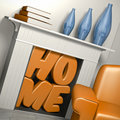 Home sweet home Royalty Free Stock Image