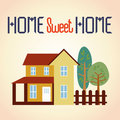 Home sweet home Stock Image