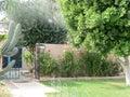 Home sweet home in the southwest minolta digital camera desert garden full swing Stock Photo