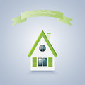 Home sweet home vector illustration of Stock Photo