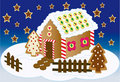 Home Sweet Home for Xmas Royalty Free Stock Photography