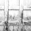 Home texture of a brown antique wooden old door in italy europ abstract europe Stock Image