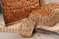 Homebaked bread fresh healthy wholegrain Royalty Free Stock Images