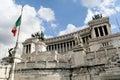 Homeland's Altar in Rome Stock Photo