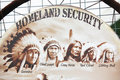 Homeland Security Royalty Free Stock Image