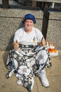Homeless in london england the uk photo taken on juillet rd Royalty Free Stock Photos