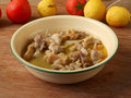 Homely guangdong salt baked chicken main course Royalty Free Stock Photo