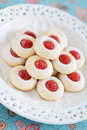 Homemade almond cookies Royalty Free Stock Photo