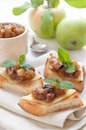 Homemade apple chutney Royalty Free Stock Photography