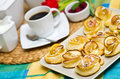 Homemade applie cookies still life image of apple or pies Royalty Free Stock Image