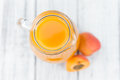 Homemade Apricot Juice