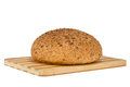 Homemade bread with sesame and sunflower seeds a Stock Photography