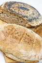 Homemade breads Royalty Free Stock Images