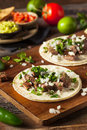 Homemade Carne Asada Street Tacos Royalty Free Stock Photo