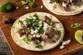 Homemade Carne Asada Street Tacos Royalty Free Stock Photo