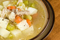 Homemade Chicken Soup Stock Image