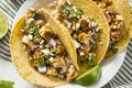 Homemade Chicken Tacos with Onion