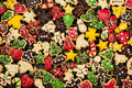 Homemade Christmas cookies Royalty Free Stock Images