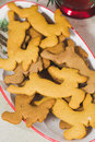 Homemade christmas cookies gingerbread sweets Royalty Free Stock Image