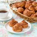 Homemade Cinnamon Buns Cakes