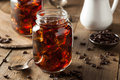Homemade cold brew coffee to drink for breakfast Royalty Free Stock Photo