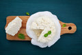 Homemade Cottage Cheese Or Cur...
