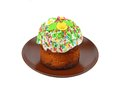 Homemade Easter cake Royalty Free Stock Photography