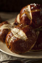 Homemade German Pretzels Rolls Royalty Free Stock Photo