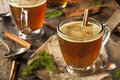 Homemade Hot Buttered Rum Royalty Free Stock Photo