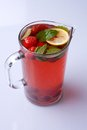 Homemade iced tea Royalty Free Stock Photo