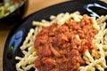 Homemade Italian Meal Stock Photography