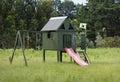 Homemade kids playhouse Royalty Free Stock Photo
